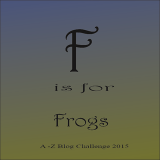 F for frogs